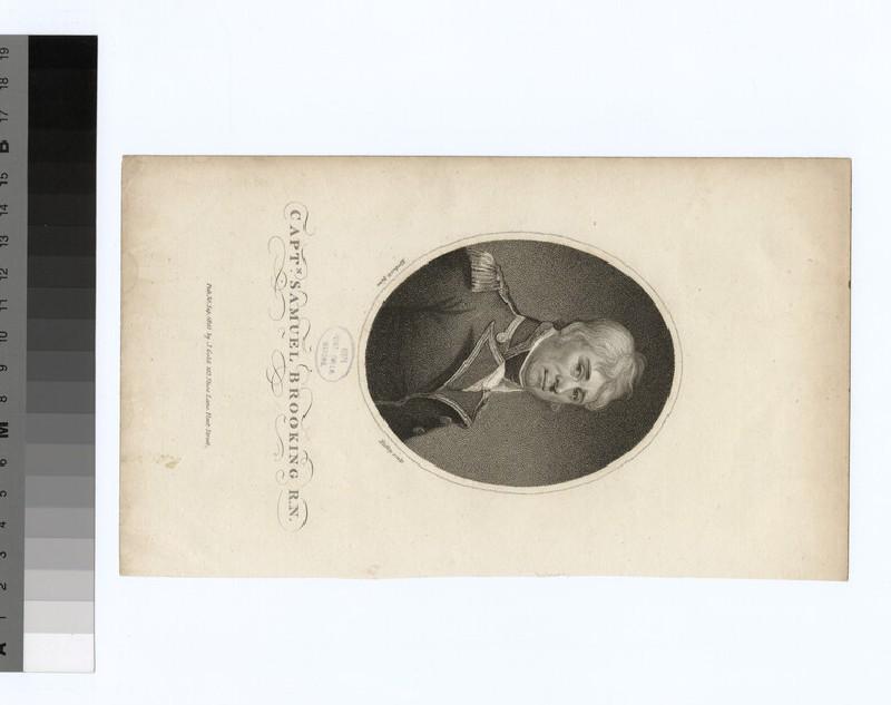 Portrait of Capt. S Brooking