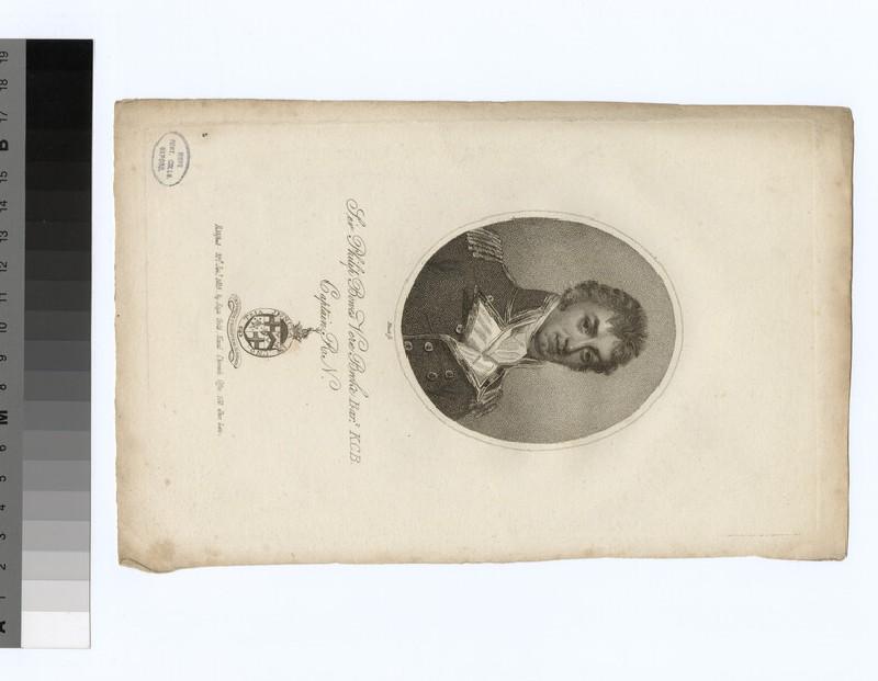 Portrait of Capt. P. B. V. Broke