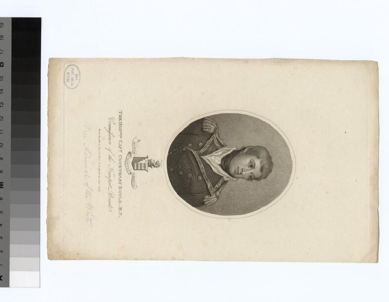 Portrait of Capt.C. Boyle