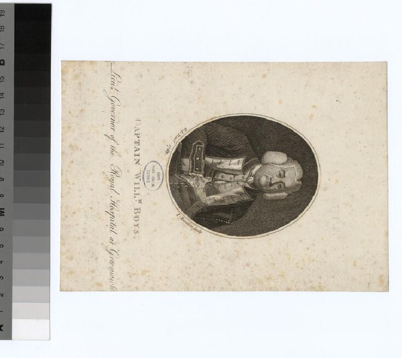 Portrait of Capt. W. Boys (WAHP33745)