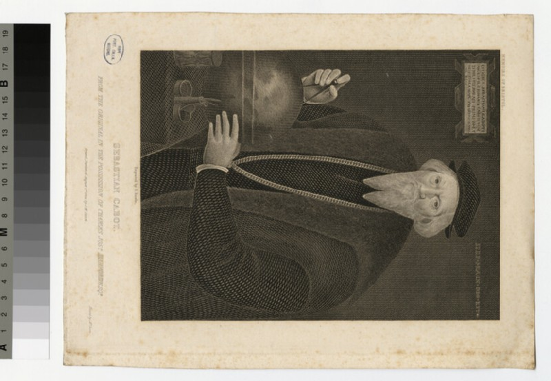 Portrait of S. Cabot