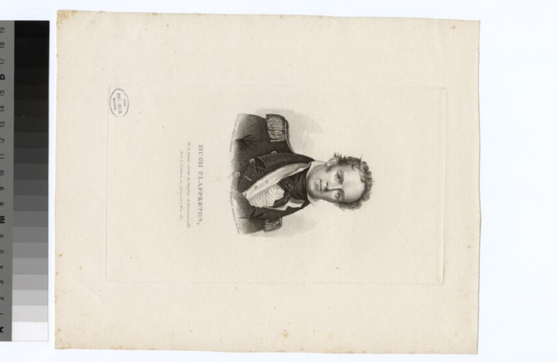 Portrait of H. Clapperton
