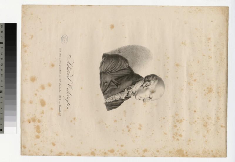 Portrait of Admiral Codrington
