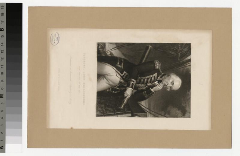 Portrait of Admiral Collingwood
