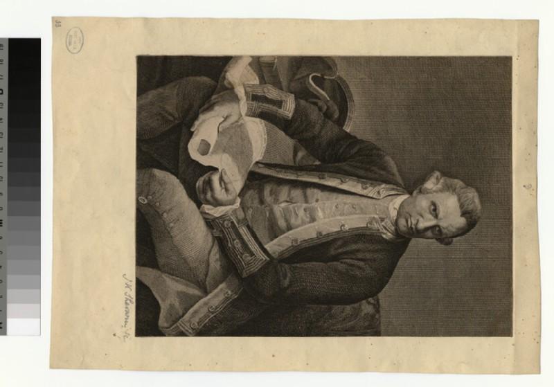 Portrait of Capt. J. Cook