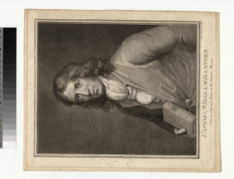 Portrait of W. Dampier