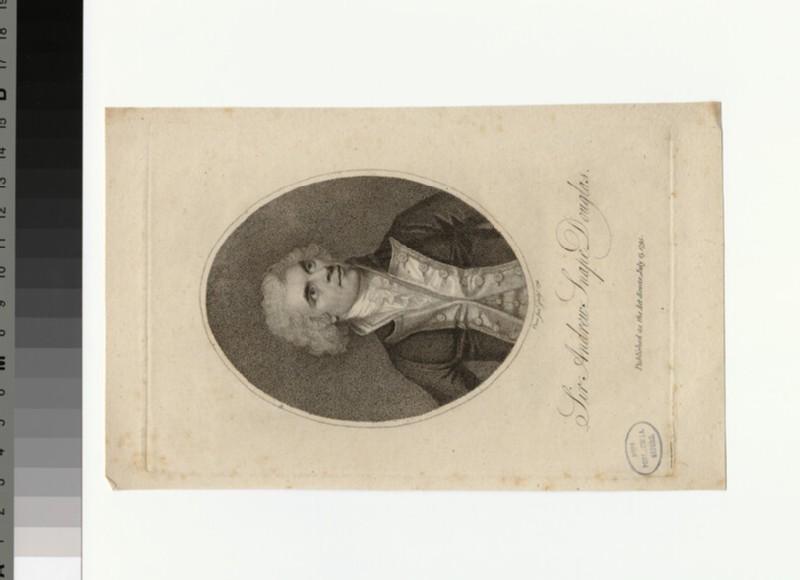 Portrait of Sir A. S. Douglas