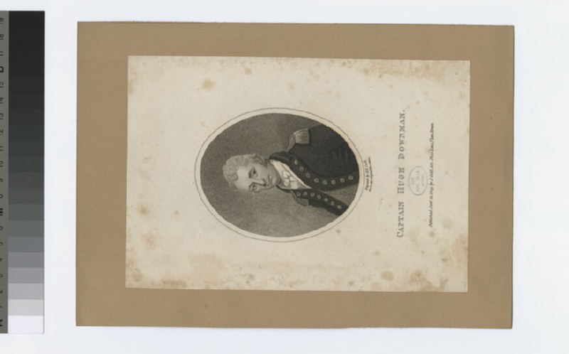 Portrait of Capt H. Downman