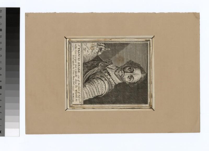 Portrait of F. Drake (WAHP33945)