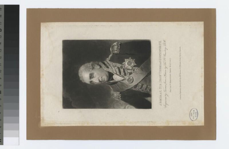 Portrait of Admiral Duckworth (WAHP33993)