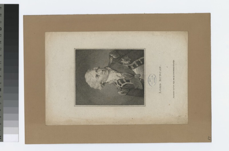 Portrait of Admiral Duncan (WAHP34006)