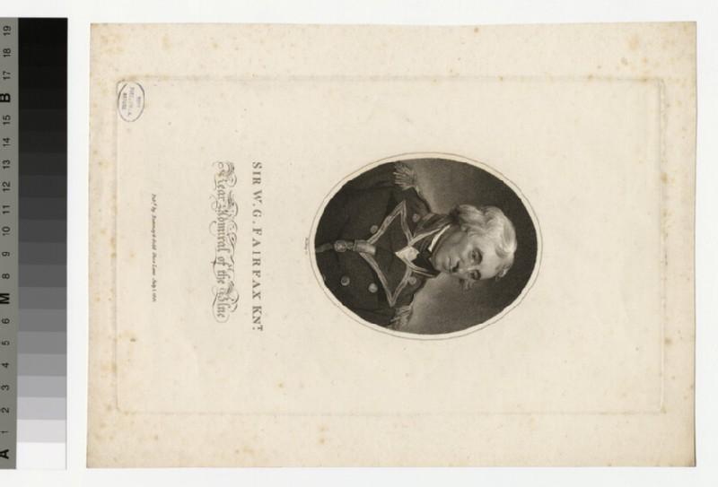Portrait of Capt W. G. Fairfax (WAHP34023)