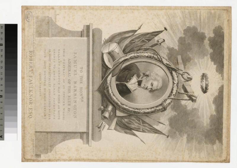 Portrait of Robert Faulknor (WAHP34026)
