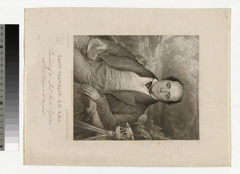 Portrait of Capt Franklin (WAHP34043)