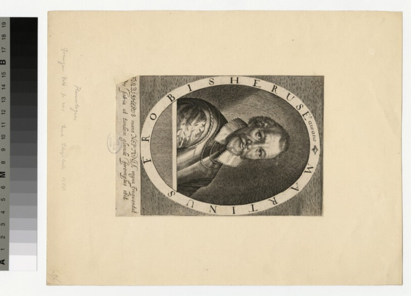 Portrait of Martin Frobisher (WAHP34059)
