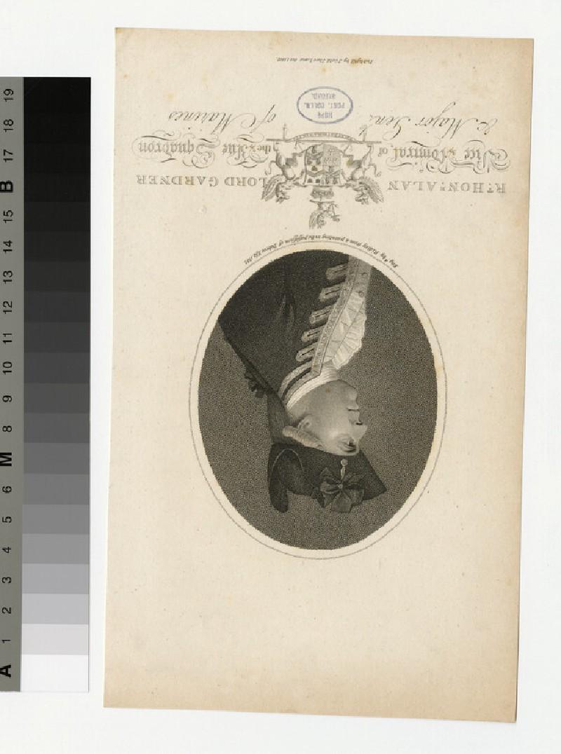 Portrait of Admiral Gardner (WAHP34065)