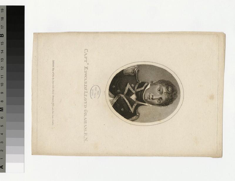 Portrait of Capt.E. L. Graham