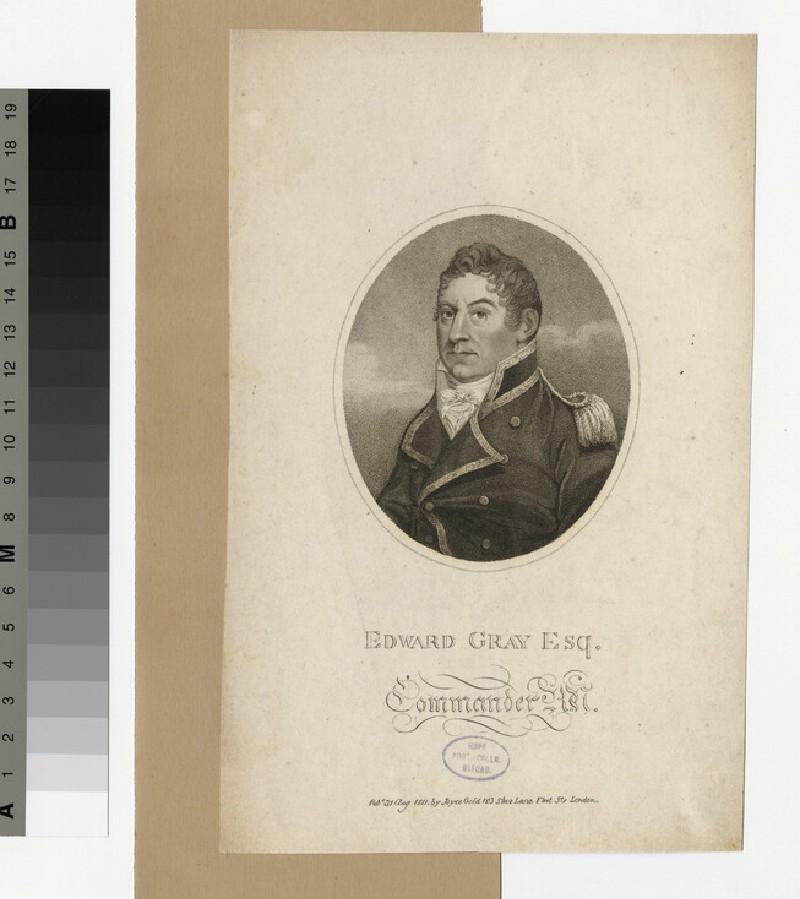 Portrait of Commander E. Gray (WAHP34088)