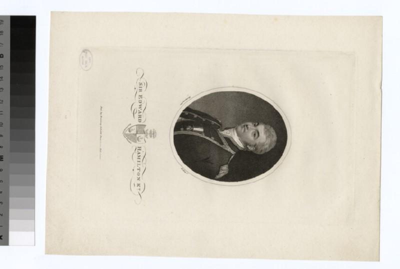 Portrait of Sir E. Hamilton