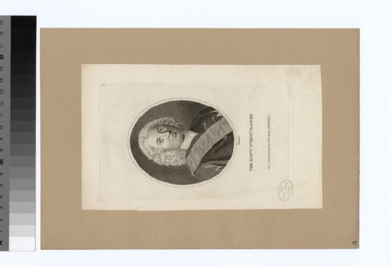 Portrait of Admiral Hawke (WAHP34125)