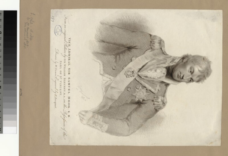 Portrait of Admiral S. Hood (WAHP34172)