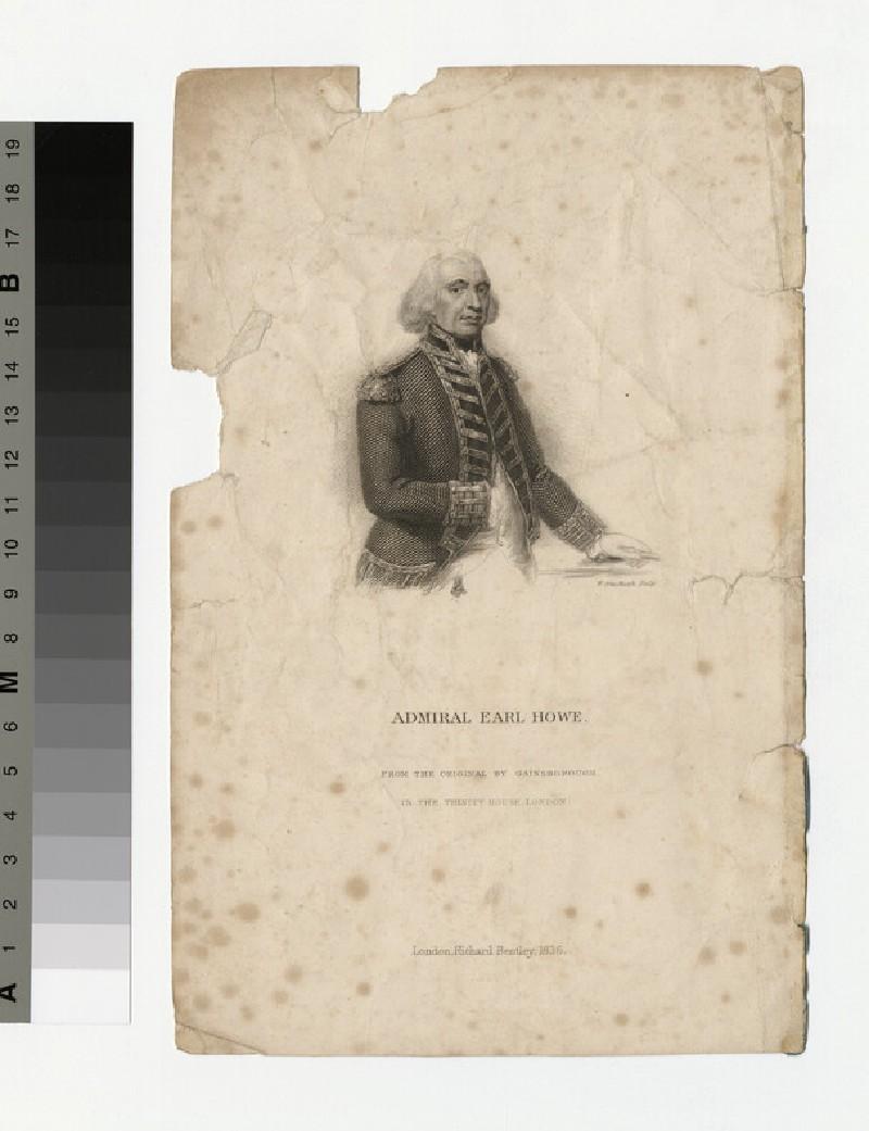 Portrait of Admiral Howe