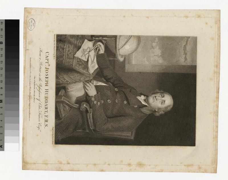 Portrait of Capt. Joseph Huddart