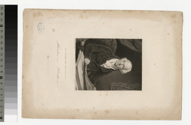Portrait of Sir A. Hume (WAHP34208)