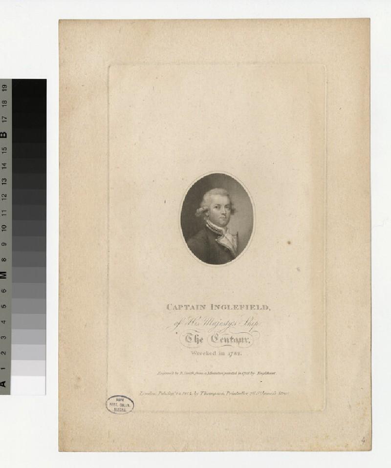 Portrait of Capt Inglefield