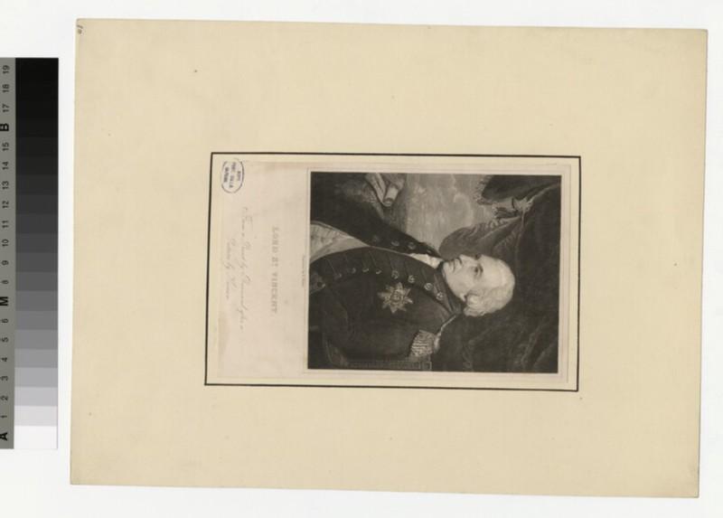 Portrait of Earl St Vincent (WAHP34225)