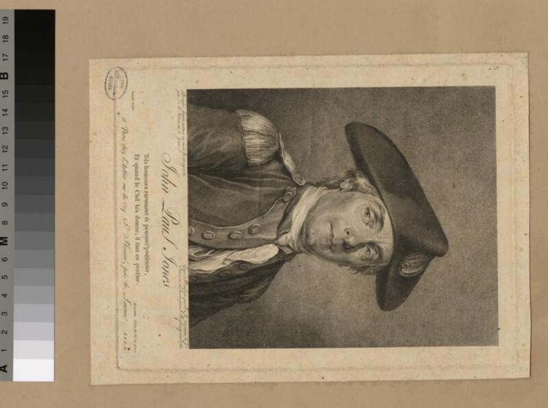 Portrait of John Paul Jones