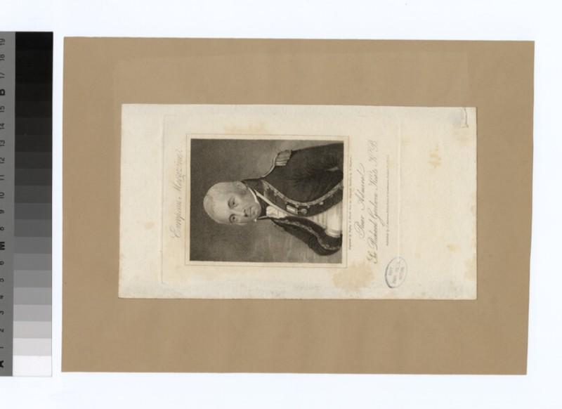 Portrait of Admiral Keats