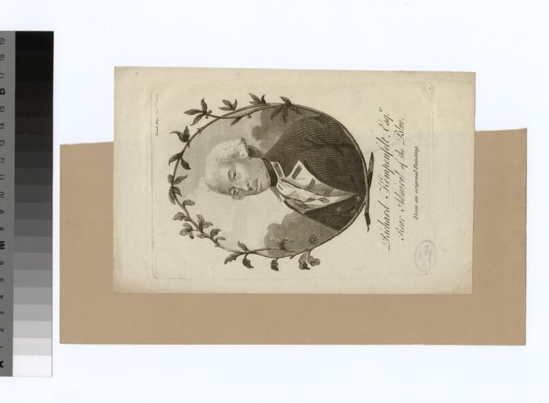 Portrait of Admiral Kempenfelt