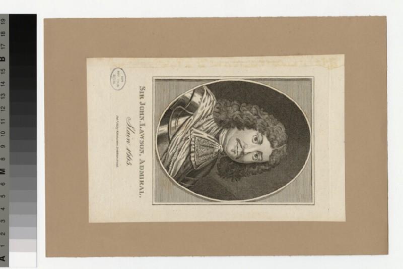 Portrait of Admiral Lawson (WAHP34295)