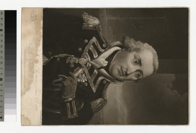 Portrait of Admiral Louis (WAHP34307)