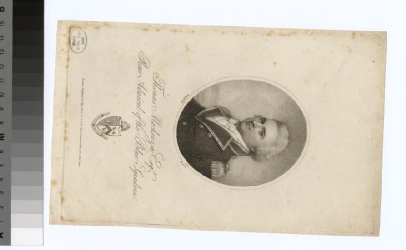 Portrait of Admiral T. Mackenzie (WAHP34319)