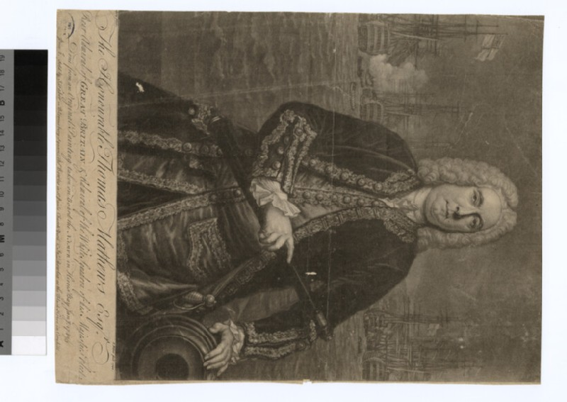 Portrait of Admiral Matthews