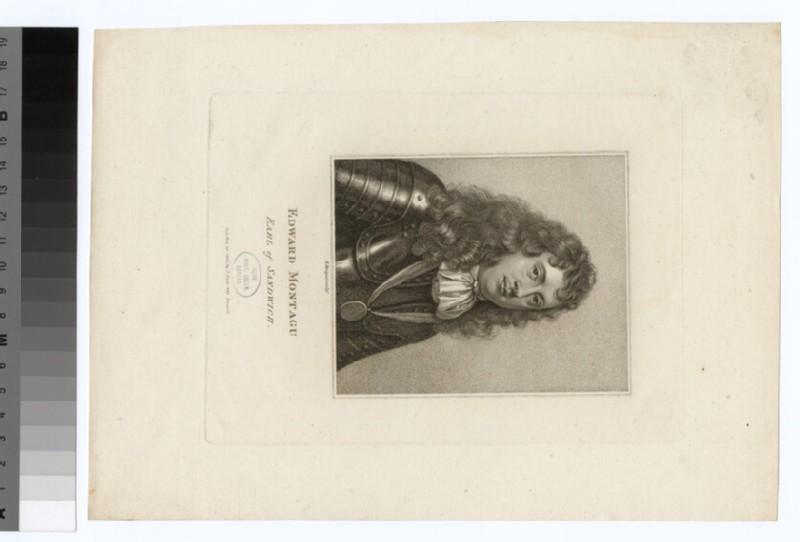 Portrait of Admiral Earl of Sandwich