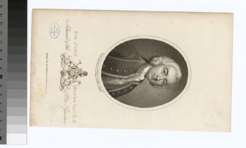Portrait of Admiral Sir J. Moore