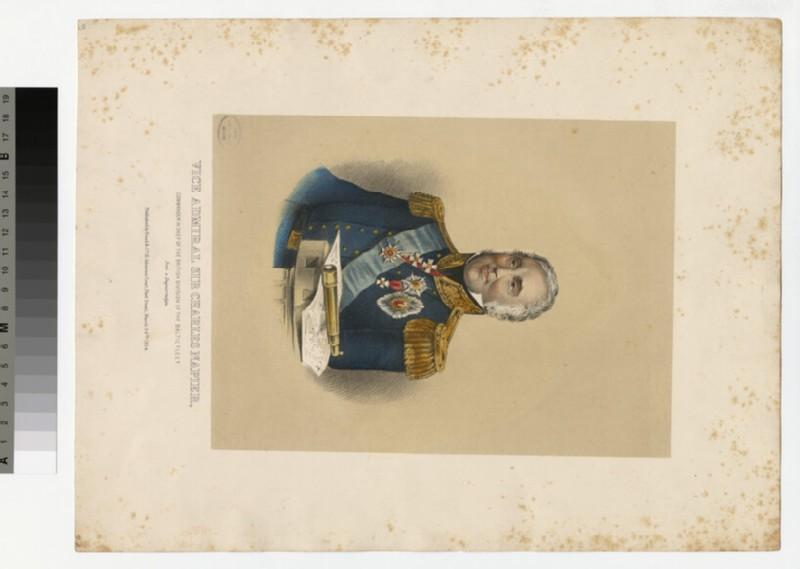 Portrait of Admiral Napier