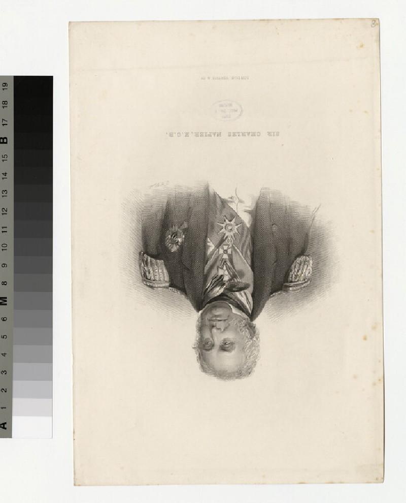 Portrait of Admiral Napier (WAHP34364)