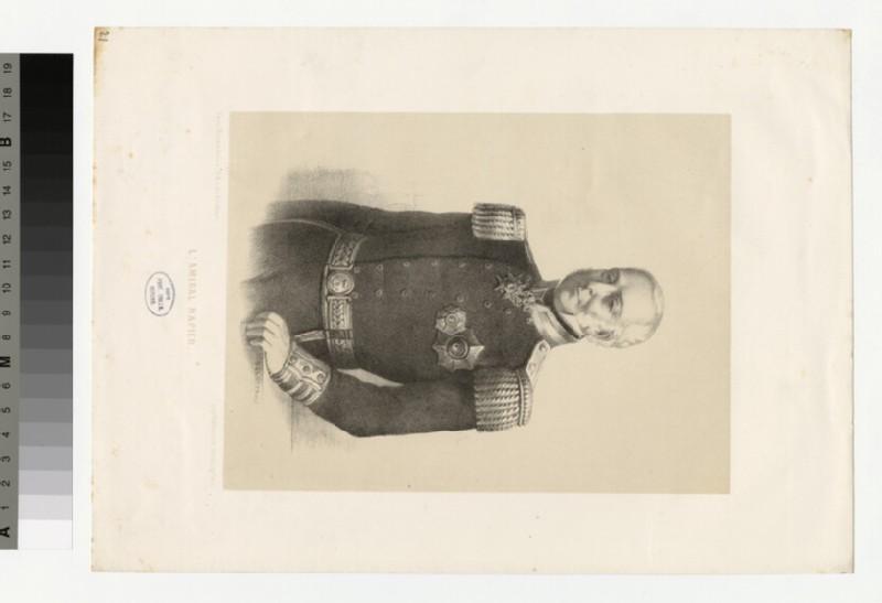 Portrait of Admiral Napier (WAHP34368)