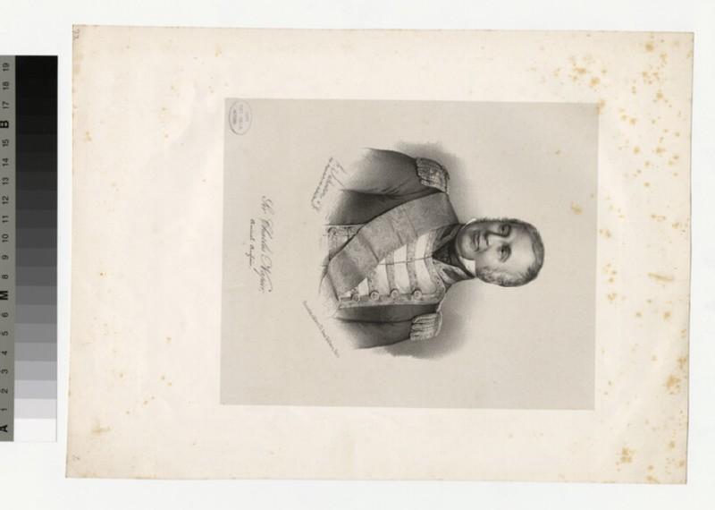 Portrait of Admiral Napier (WAHP34369)