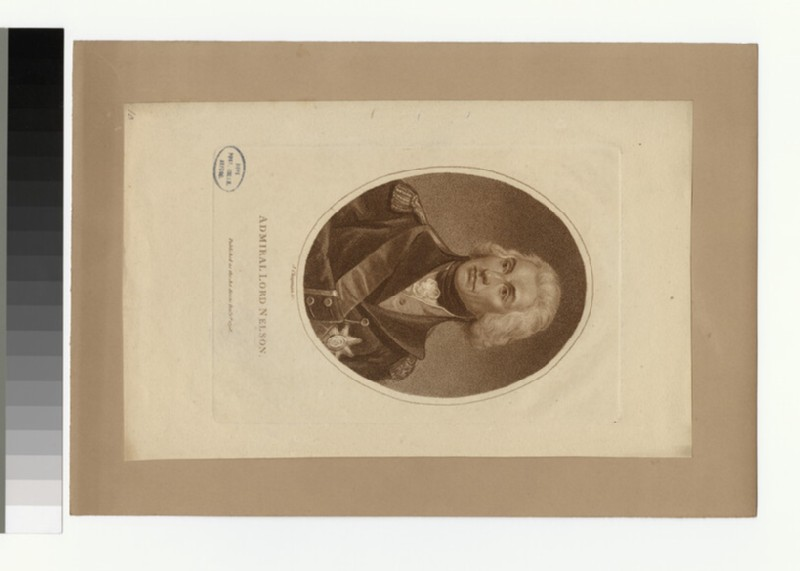 Portrait of Lord Nelson