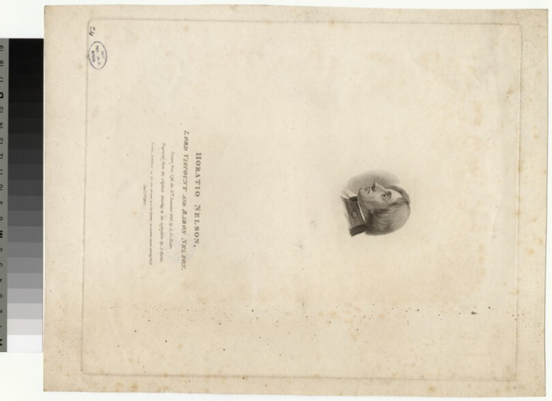 Portrait of Lord Nelson (WAHP34390)