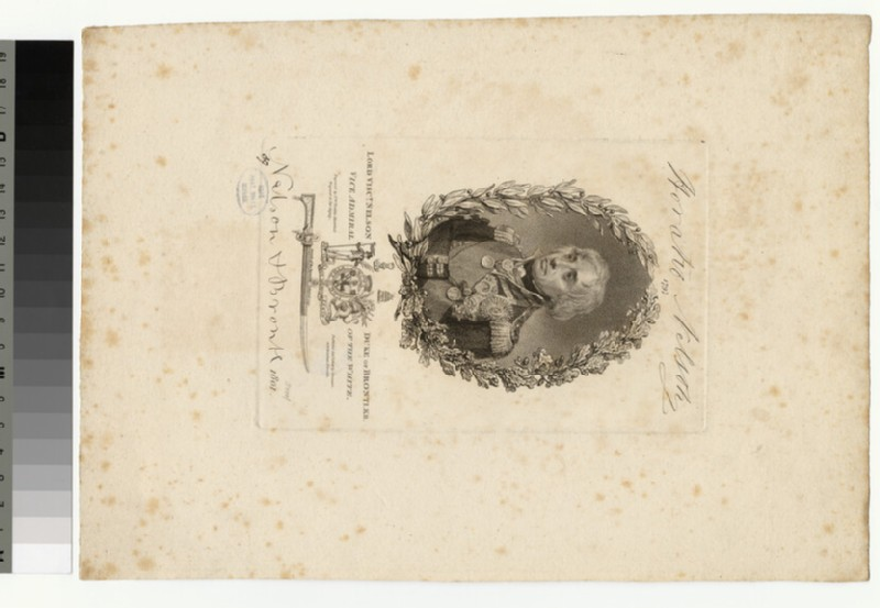 Portrait of Lord Nelson (WAHP34406)