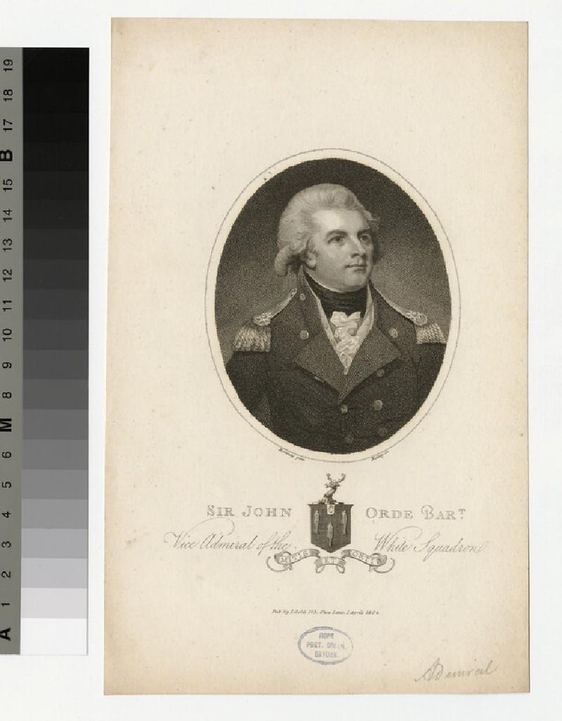Portrait of Admiral Orde
