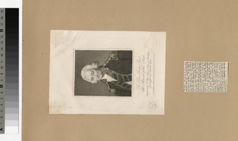 Portrait of Admiral P. Parker (WAHP34471)