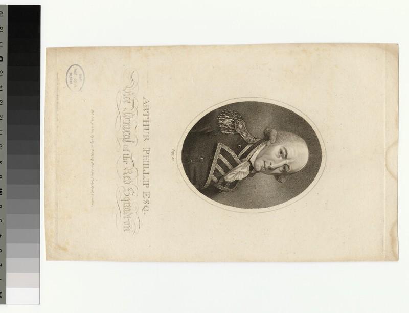 Portrait of Amiral Phillip