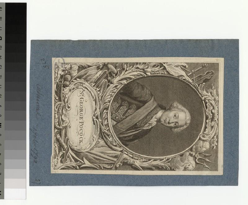 Portrait of Sir G. Pocock